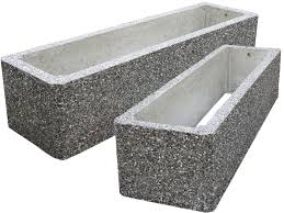 Square Concrete Planter by Large Concrete Planters For Commercial And Municipal Applications