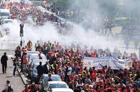 bureau de change au havre bureau de change le havre protests escalate in as labor
