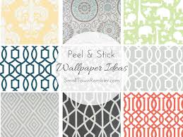 Peal And Stick Wall Paper Stick On Wallpaper At Target Wallpapersafari