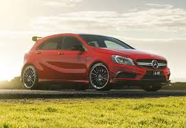 mercedes hatch amg mercedes a45 2013 review carsguide