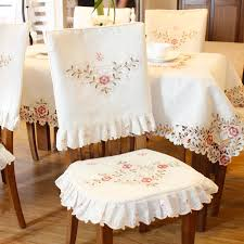 dining table chair covers online shop grade embroidered top dining table cloth thick warm