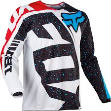 volcom motocross gear fox 2017 180 nirv red white jersey mxstore picks riding gear