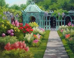 Westbury Botanical Gardens League Of Nassau County Paint Out At Westbury Gardens