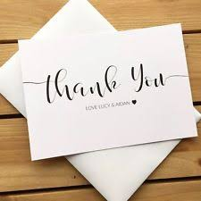 personalized thank you cards wedding thank you cards wedding invites cards ebay
