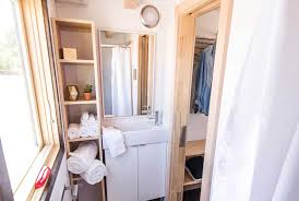 Tumbleweed Homes Interior by This Tiny Farm House On Wheels Starts At 63k Downstairs Bedroom