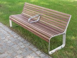Esszimmer St Le Ohne Lehne Parkbank Mit Lehne Seitenteile Aus Aluguss Sitzfläche Und