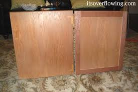 Reface Cabinet Doors Kitchen Cabinet Resurface Pennies Per Door Its Overflowing