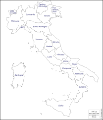 Campania Italy Map by Italy Free Map Free Blank Map Free Outline Map Free Base Map