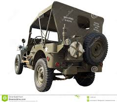 ww2 jeep wwii jeep rear view stock image image of tank road 11356745