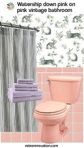 retro pink bathroom ideas pink bathroom decor vintage pink on pink bathroom designmint co