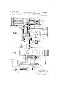patent us2565985 symbol typing and tape feeding mechanism for