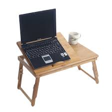 Laptop Desks For Sale 53cm Adjustable Bamboo Computer Desk Laptop Table Foldable With