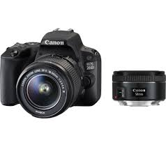 buy canon eos 200d dslr camera with 18 55 mm f 3 5 f 5 6 dc u0026 50