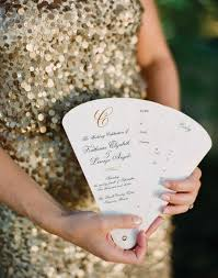 Fan Programs For Weddings 25 Ceremony Program Ideas You U0027ll Love