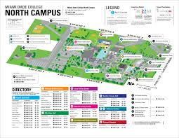 Map Of Miami Dade County by Miami Dade North Campus Map Miami Dade College North Campus Map