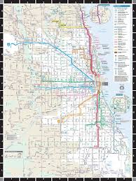 Chicago Train Map by Cta Transit Puzzle U2013 New York Puzzle Company