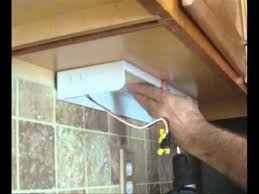 how to install an under cabinet lighting youtube