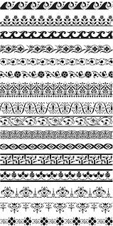 ornament borders vector vector graphics vector illustrations