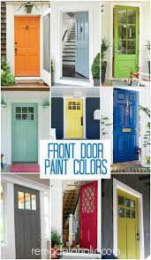Exterior Door Colors Remodelaholic 50 Beautiful Doors Front Door Paint Colors