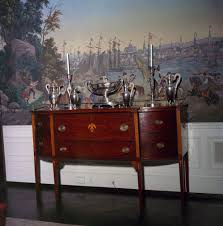 kn c21030 a mahogany sideboard in the president u0027s dining room
