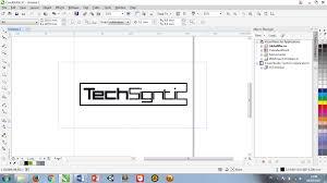 membuat gambar transparan di corel draw x7 tutorial export file coreldraw x7 ke jpg dan png techsigntic