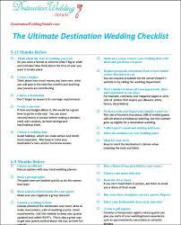 wedding planning list template destination wedding checklist destination wedding checklist