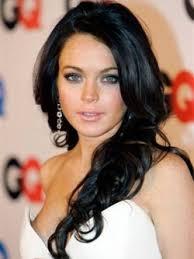 Dark Hair Light Skin Lindsay Lohan Hair Color Transformations