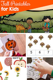 fall printables for kids simple fun for kids
