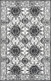 Damask Area Rugs Handmade Floral Damask Area Rugs Contemporary Area Rugs By