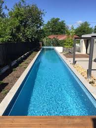 outdoor lap pool outdoor lap pool in the side yard minimum size of lap pools