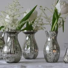 Glass Vases For Weddings The Wedding Of My Dreams Dainty Mercury Silver Glass Vases