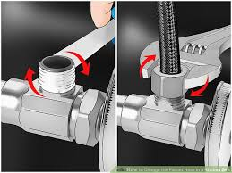 Faucet Pipes How To Change The Faucet Hose In A Kitchen Sink With Pictures