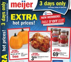 black friday meijer 2017 meijer 3 day sale october 5 7 2017 u2022 bargains to bounty