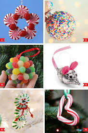 candy ornaments diy christmas ornaments made from candy chickabug