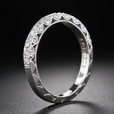 tacori wedding bands tacori vintage style platinum diamond wedding band