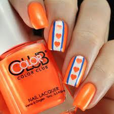 copycat claws color club foxy mama nail art