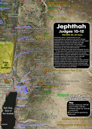 World Map Timeline by Timeline Maps Chronology Sermons Of Judges Jephthah 1118 1094 Bc
