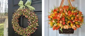 Spring Wreaths For Door by Door Decor Giveaway From Ever Blooming Originals Ended