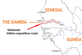 Gambia Africa Map by A Short Walk In The Gambian Bush U2013 Photos Tell Stories