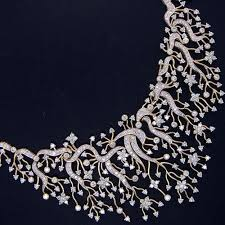 picture diamond necklace images Designer diamond necklace at rs 85000 piece varachha surat jpg