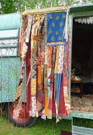 Hippie Beaded Door Curtains Hippie Wanderlust Beaded Door Curtain By Thesleepyarmadillo The