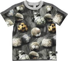 rishi dusty soccer short sleeve t shirt with football print molo