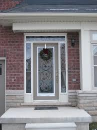Glass Inserts For Exterior Doors Front Doors Leaded Glass Front Door Insert Stained Glass