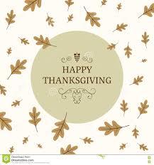 thanksgiving greeting card design stock illustration image 75077086