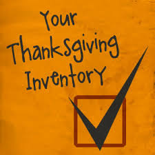 your thanksgiving inventory script the skit guys