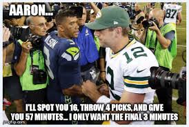 Russell Wilson Memes - the accuracy of this meme russel wilson and aaron rodgers