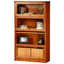 bookcase barrister bookcase with sliding glass doors barrister