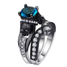 skull wedding ring sets popular skull wedding ring sets buy cheap skull wedding ring sets