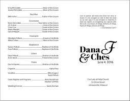 Printed Wedding Programs Do It Yourself Wedding Program Cards