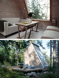 small cabin in the woods 20 tiny homes that make the most of a little space bored panda